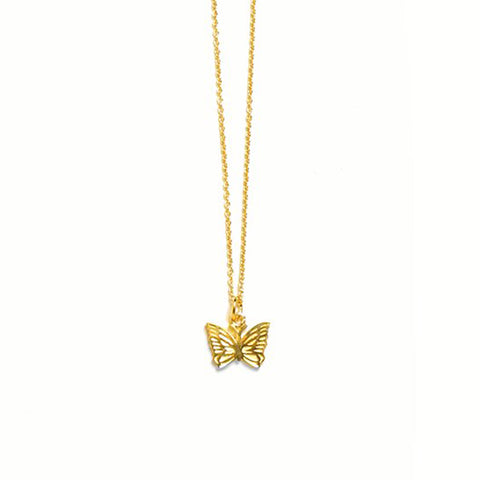 NEEDLES PAPILLON PENDANT 18K GOLD PLATED