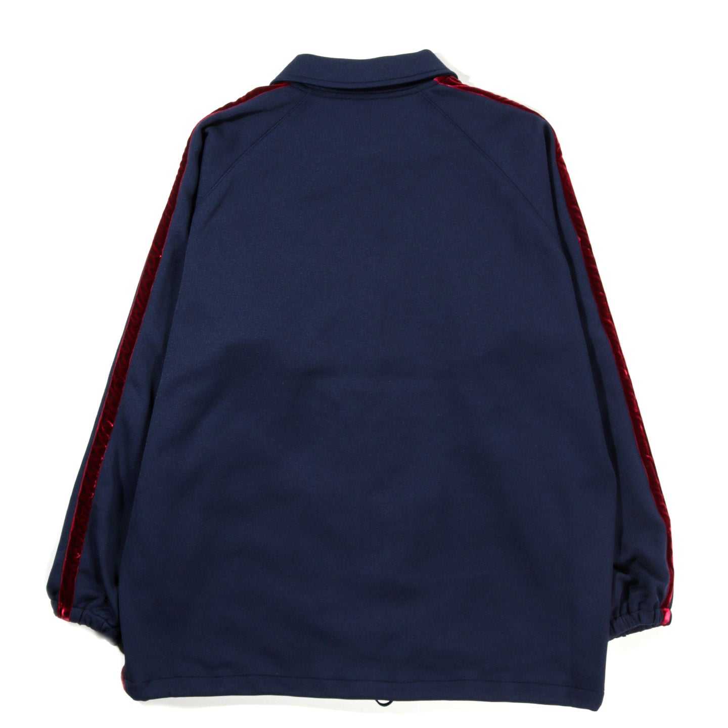 NEEDLES SIDE LINE COACH JACKET POLY SMOOTH NAVY