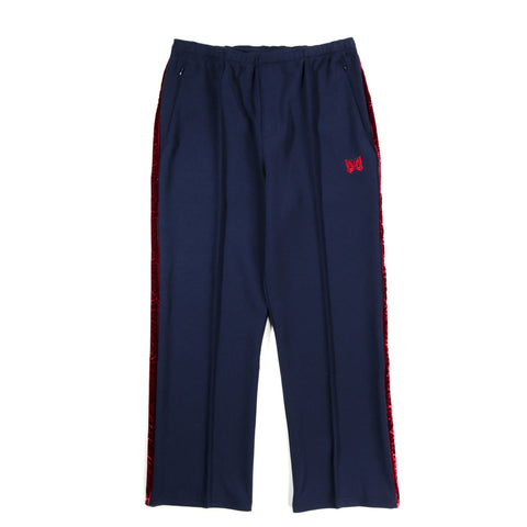 NEEDLES SIDE LINE CENTER SEAM PANT POLY NAVY
