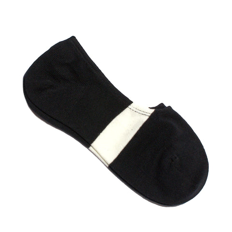 N/A SOCK SIX NO-SHOW BLACK