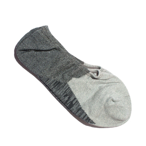 N/A SOCK TWENTY-TWO NO-SHOW GREY