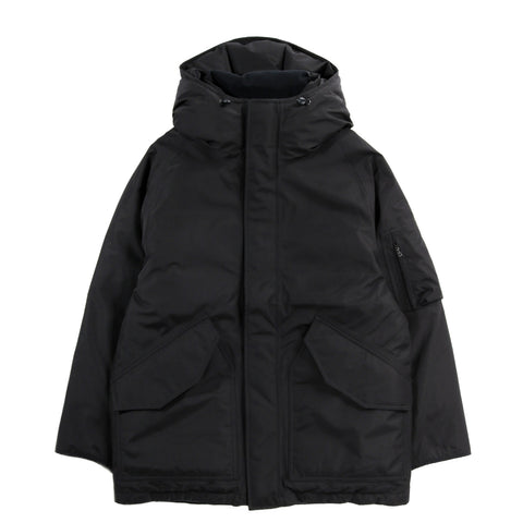 NANAMICA GORE-TEX DOWN COAT BLACK
