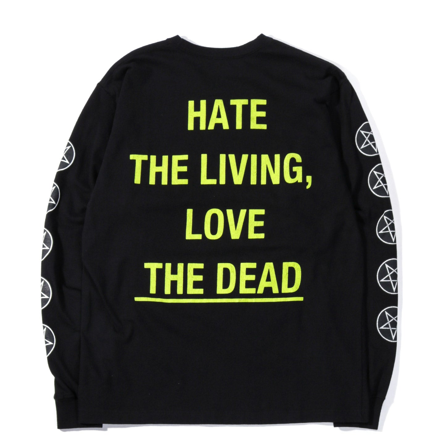 NEIGHBORHOOD DEAD LS T-SHIRT BLACK