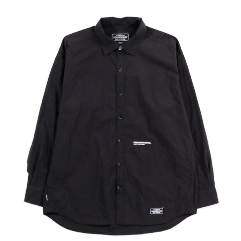 NEIGHBORHOOD CLASSIC SHIRT BLACK