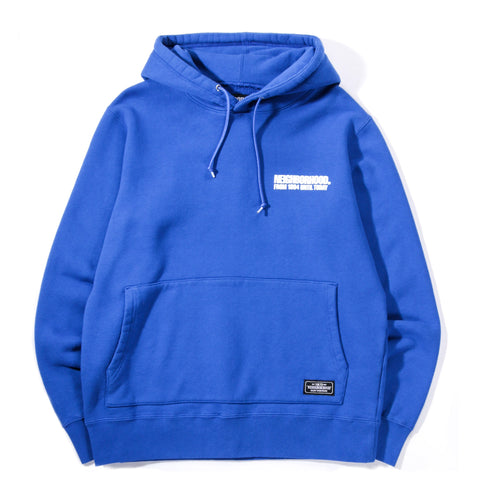 NEIGHBORHOOD CLASSIC HOODED SWEATSHIRT BLUE
