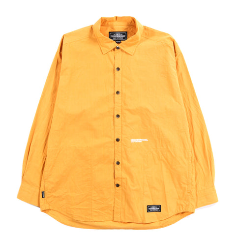NEIGHBORHOOD CLASSIC SHIRT MUSTARD