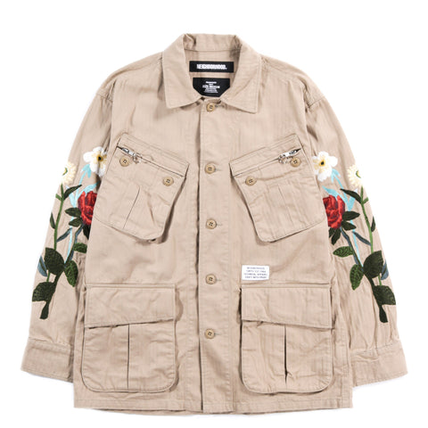 NEIGHBORHOOD COMBAT JACKET KHAKI