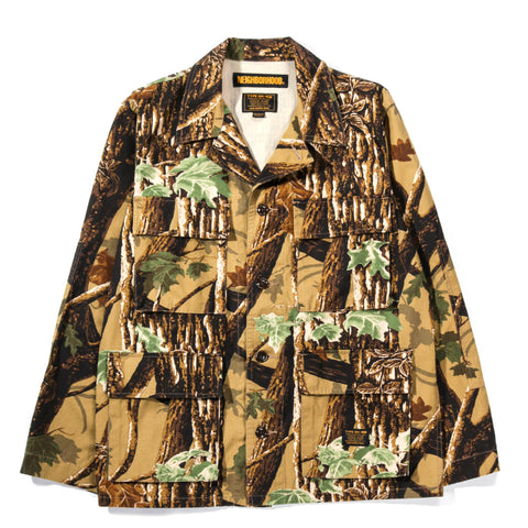 NEIGHBORHOOD MILITARY BDU SHIRT CAMOUFLAGE