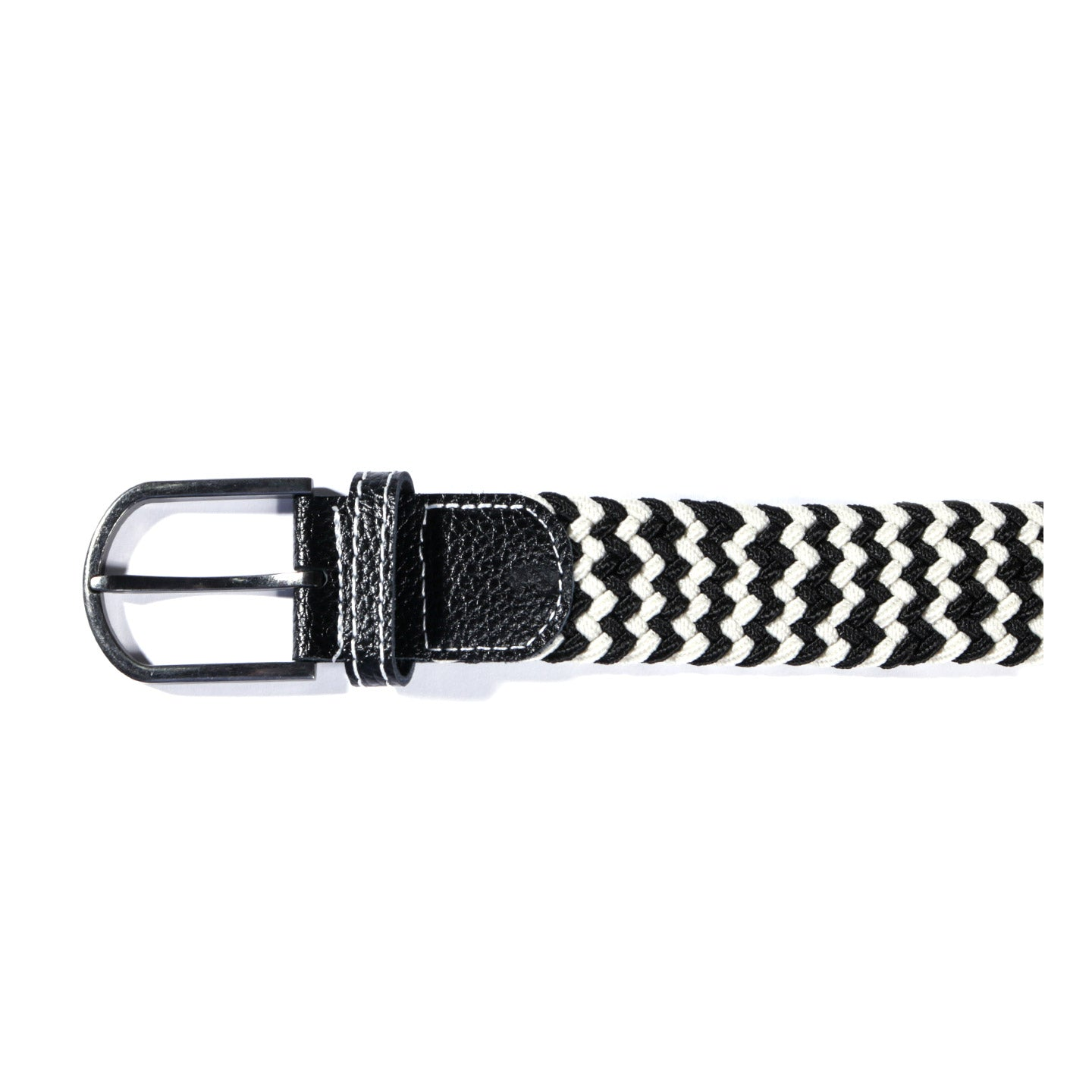 NEIGHBORHOOD BRAID BELT BLACK