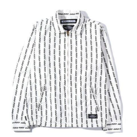 NEIGHBORHOOD EM DRIZZLER JACKET WHITE