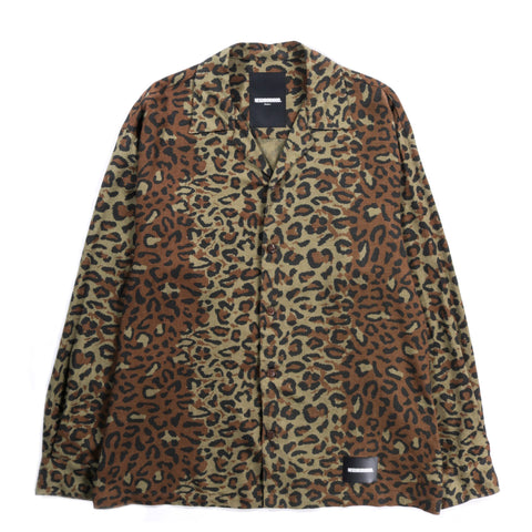 NEIGHBORHOOD LS ALOHA SHIRT LEOPARD