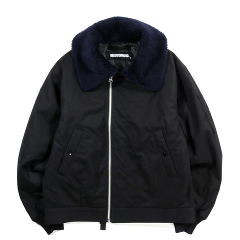 NEIGHBORHOOD B-15D JACKET BLACK