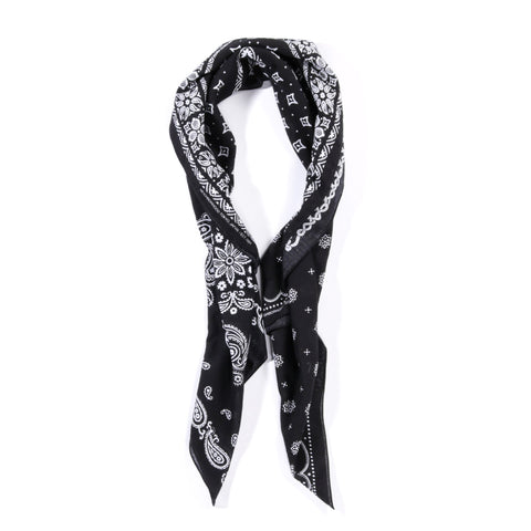 NEIGHBORHOOD BANDANA PRINT STOLE BLACK