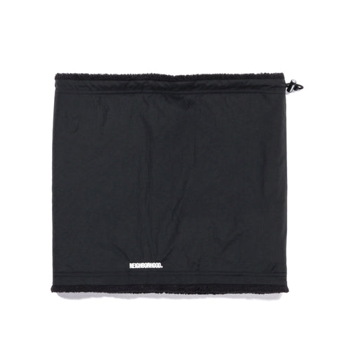 NEIGHBORHOOD NECK WARMER BLACK