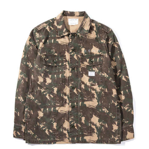 NEIGHBORHOOD BDU SHIRT CAMOUFLAGE
