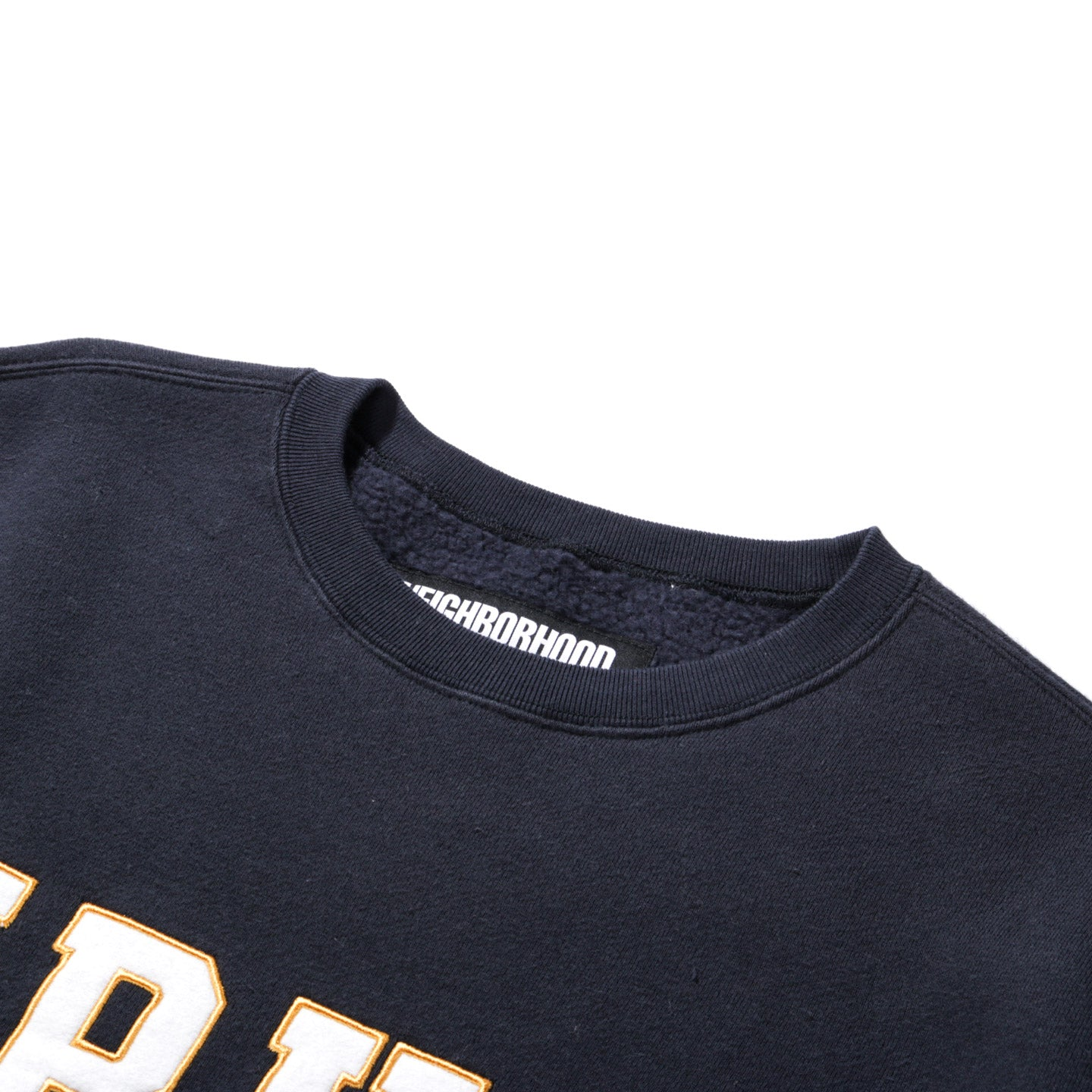 NEIGHBORHOOD LOGIC CREW SWEATSHIRT NAVY