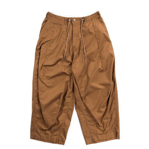 NEEDLES H.D. PANT MILITARY BROWN