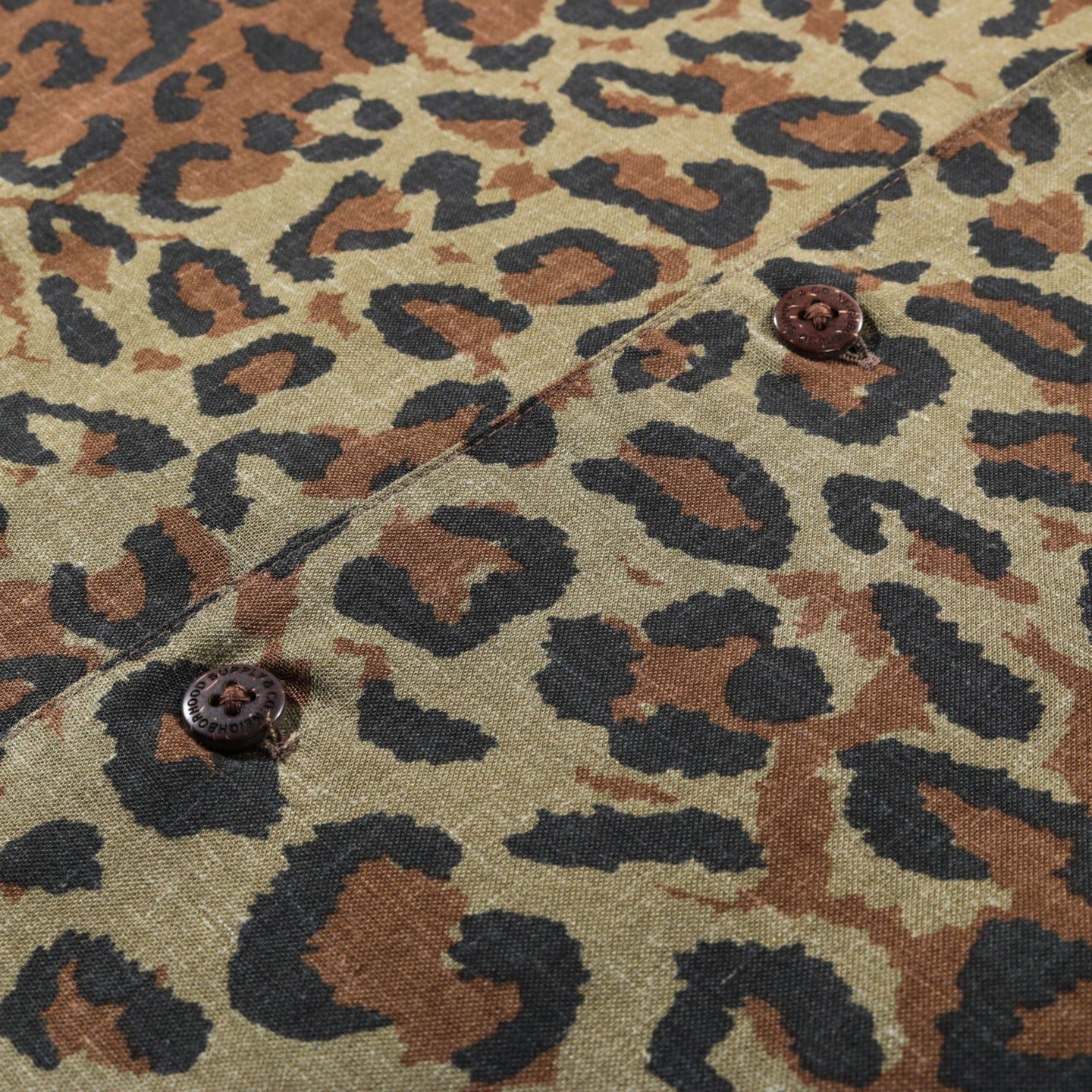 NEIGHBORHOOD SS ALOHA SHIRT LEOPARD
