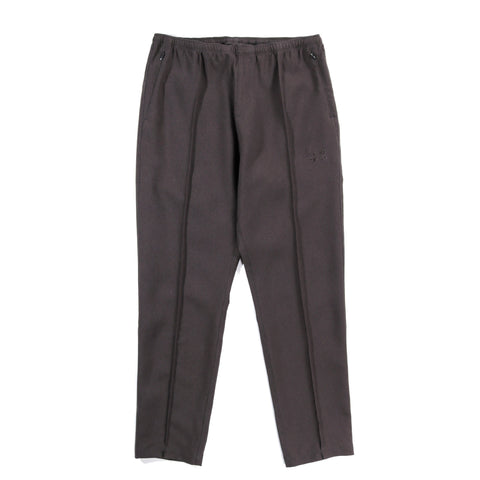 NEEDLES WARM-UP PANT POLY POPLIN CLOTH CHARCOAL