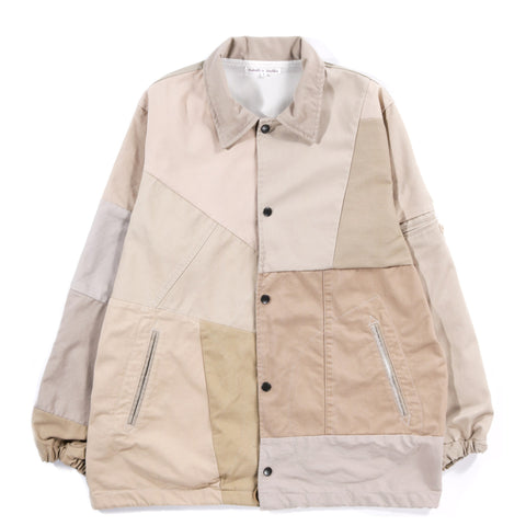 REBUILD BY NEEDLES CHINO PANT COACH JACKET KHAKI - S (A)