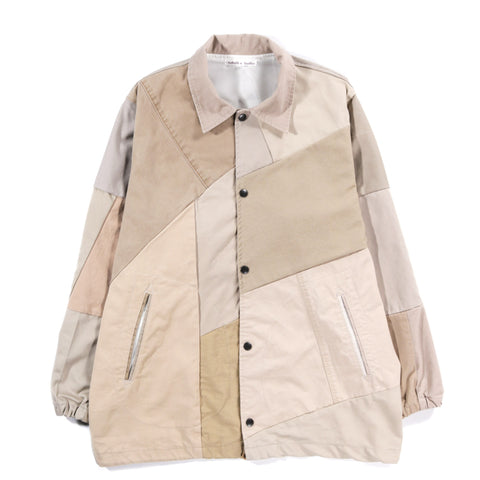 REBUILD BY NEEDLES CHINO PANT COACH JACKET KHAKI - S (B)