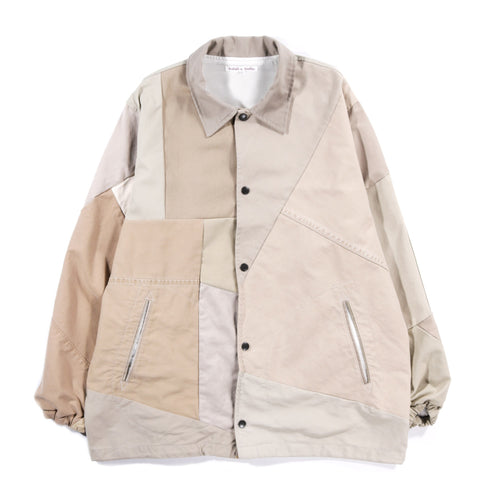 REBUILD BY NEEDLES CHINO PANT COACH JACKET KHAKI - M (A)