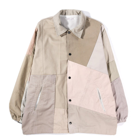REBUILD BY NEEDLES CHINO PANT COACH JACKET KHAKI - M (B)