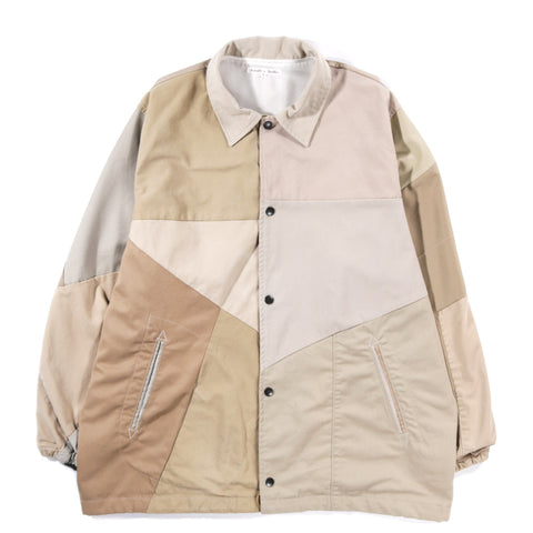 REBUILD BY NEEDLES CHINO PANT COACH JACKET KHAKI - L (A)