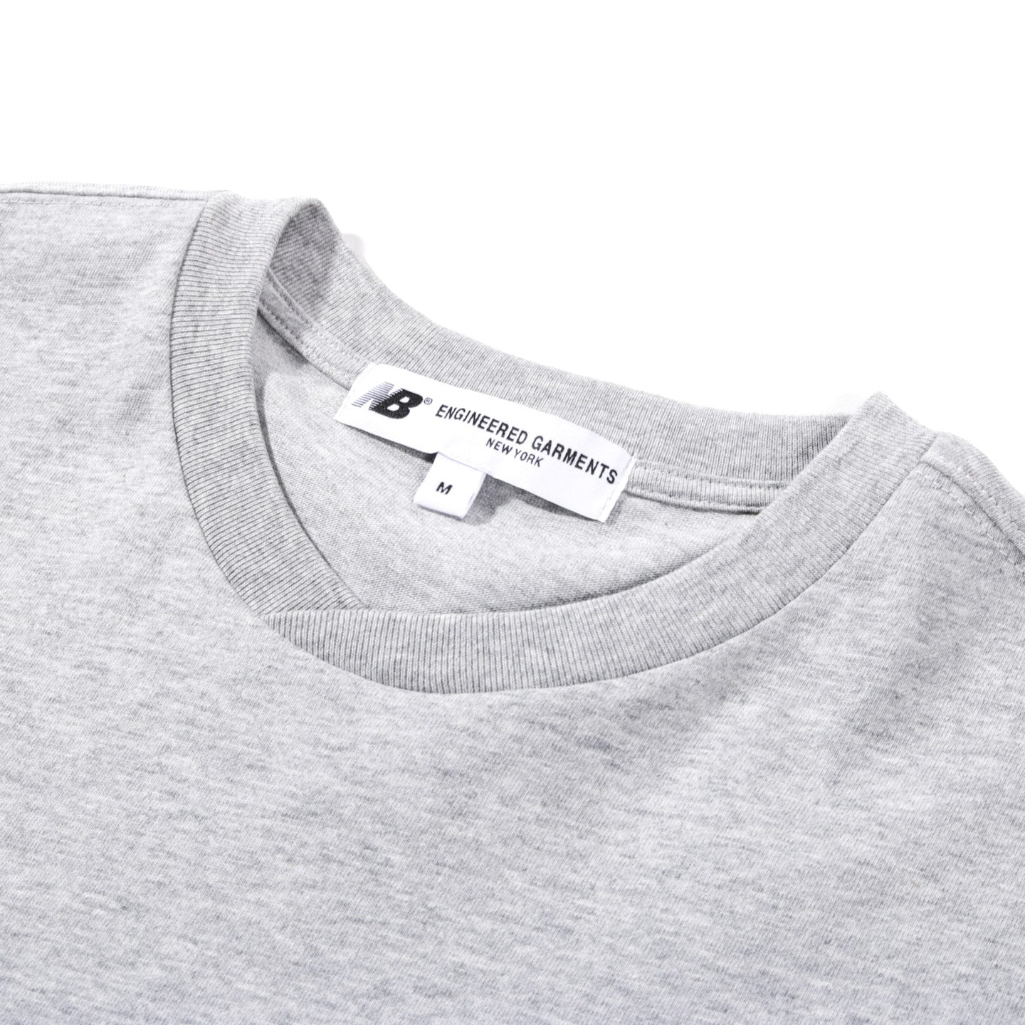 NEW BALANCE ENGINEERED GARMENTS CROSS T-SHIRT GREY