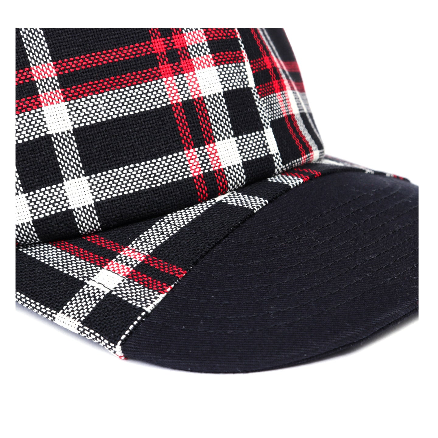 N.HOOLYWOOD 1201-AC08 UNDERCOVER CAP BLACK CHECK