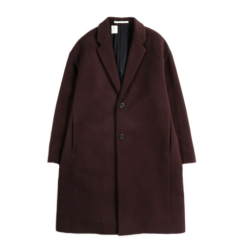 N.HOOLYWOOD 1202-CO02 WOOL COAT BROWN