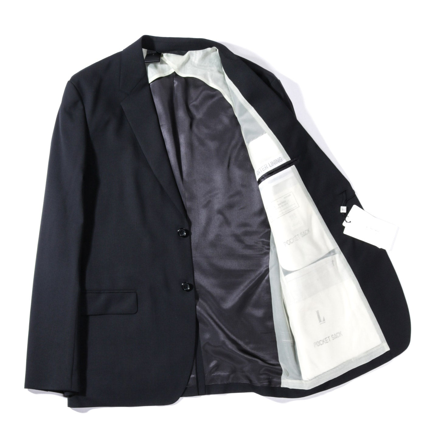 N.HOOLYWOOD 282-JK04 SUIT JACKET BLACK