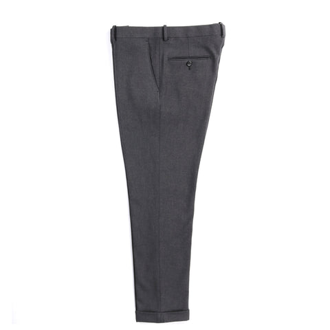 N.HOOLYWOOD 1202-PT02 TAPERED TROUSERS CHARCOAL
