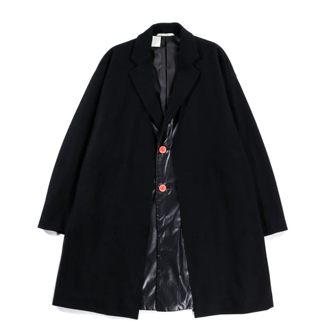 N.HOOLYWOOD 192-CO07 LAYERED COAT BLACK