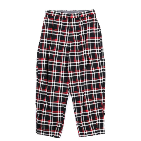 N.HOOLYWOOD 1201-PT06 UNDERCOVER PANTS BLACK CHECK