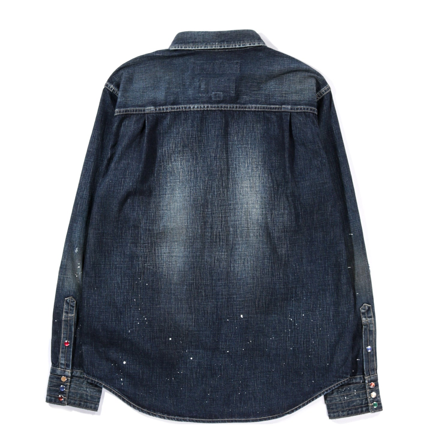 NEIGHBORHOOD SAVAGE DENIM WESTERN SHIRT INDIGO