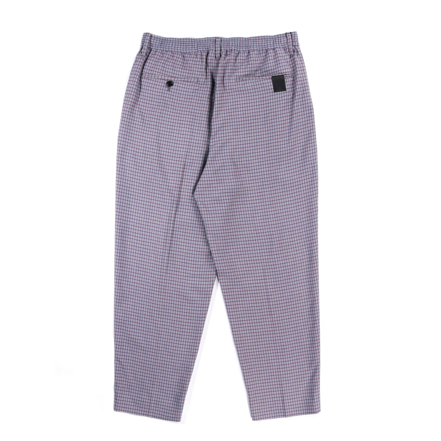 N.HOOLYWOOD 2211-PT07 EASY PANTS RED CHECK