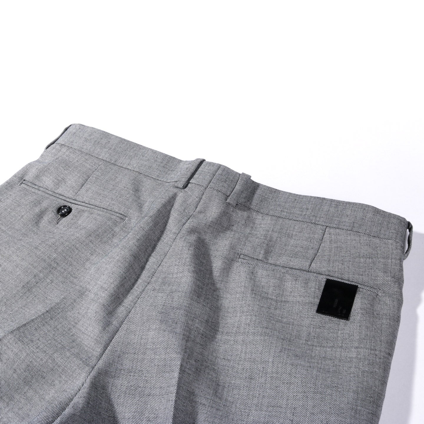 N.HOOLYWOOD 2201-PT05 TAPERED SUIT PANTS GRAY