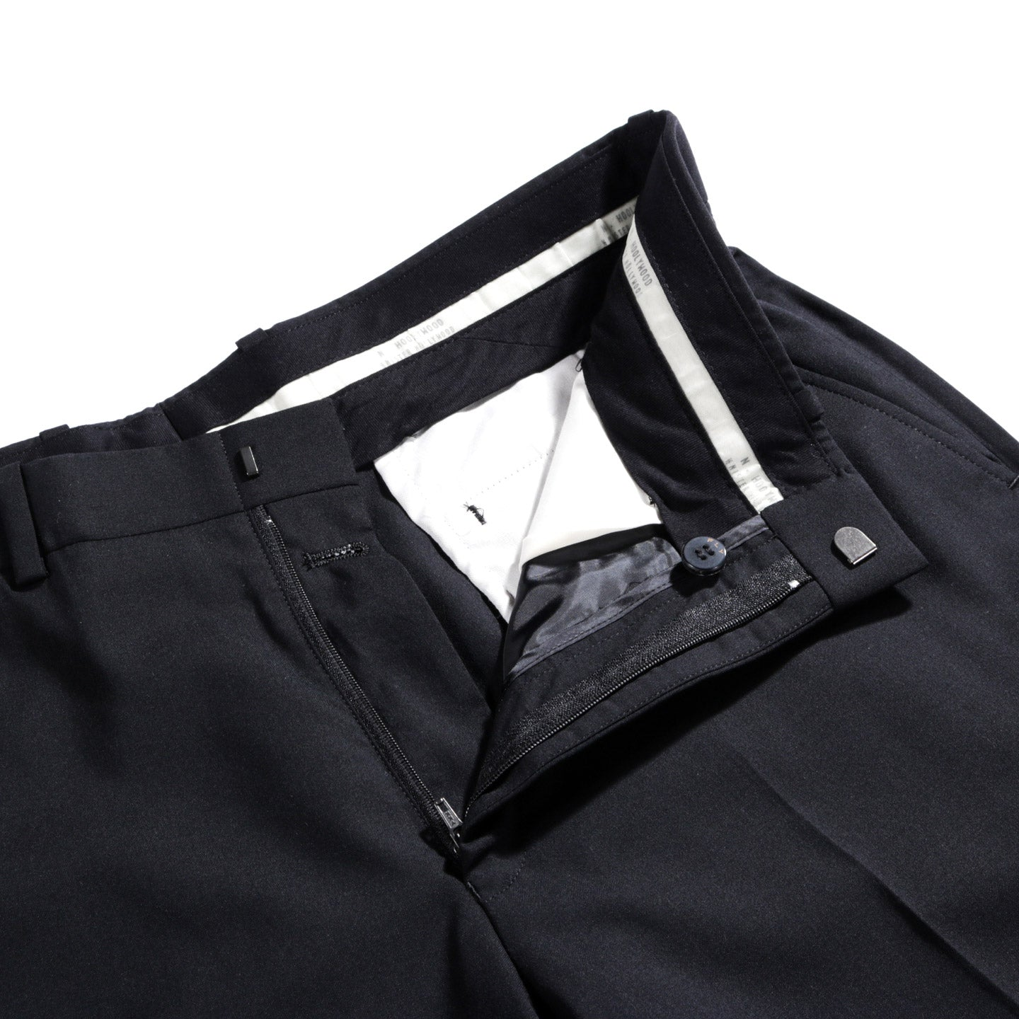 N.HOOLYWOOD 282-PT04 SUIT PANTS BLACK