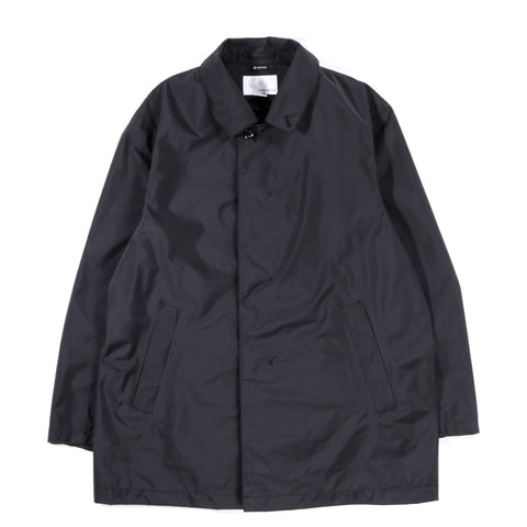 NANAMICA GORE-TEX SHORT SOUTIEN COLLAR COAT BLACK