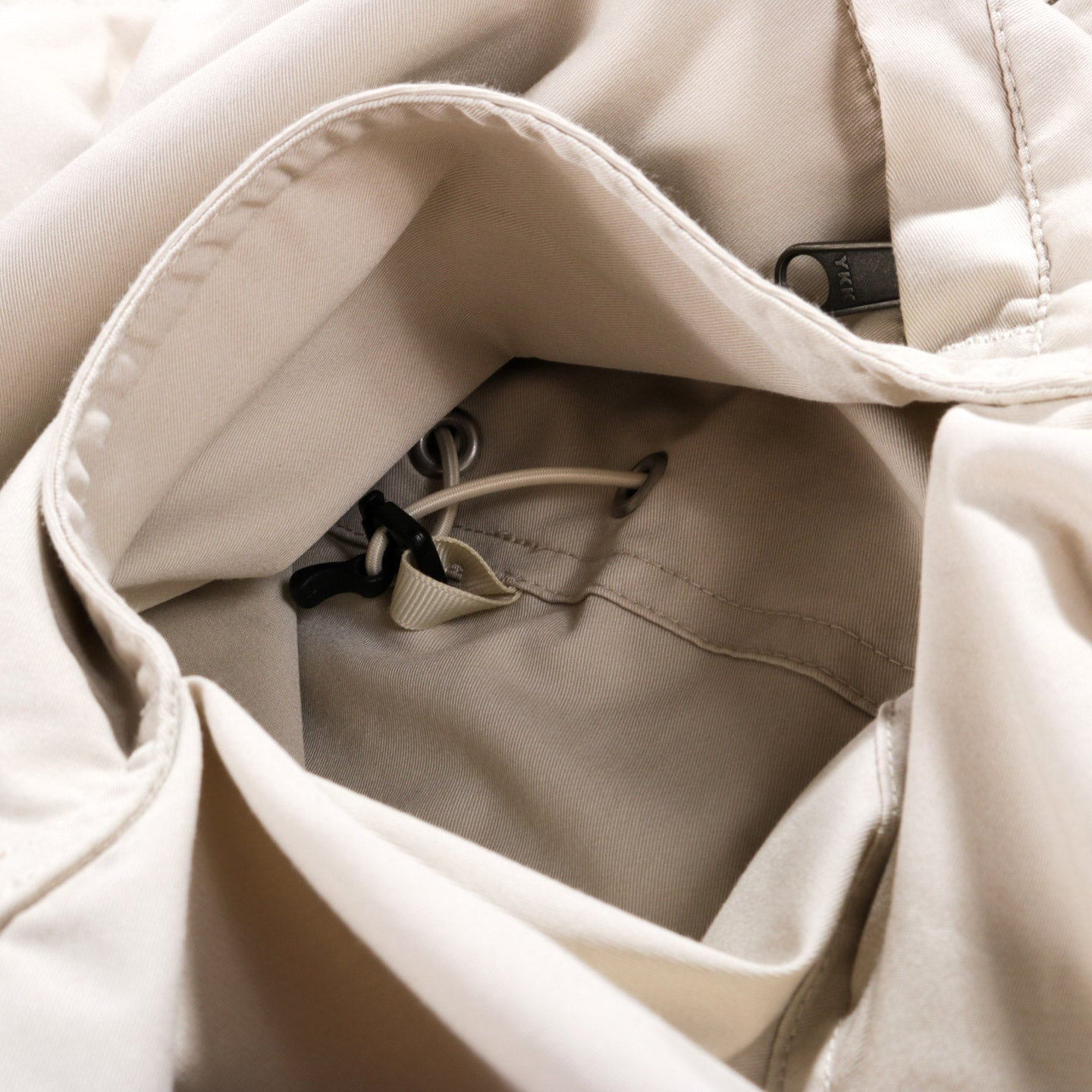 NANAMICA DOCK ANORAK LIGHT BEIGE