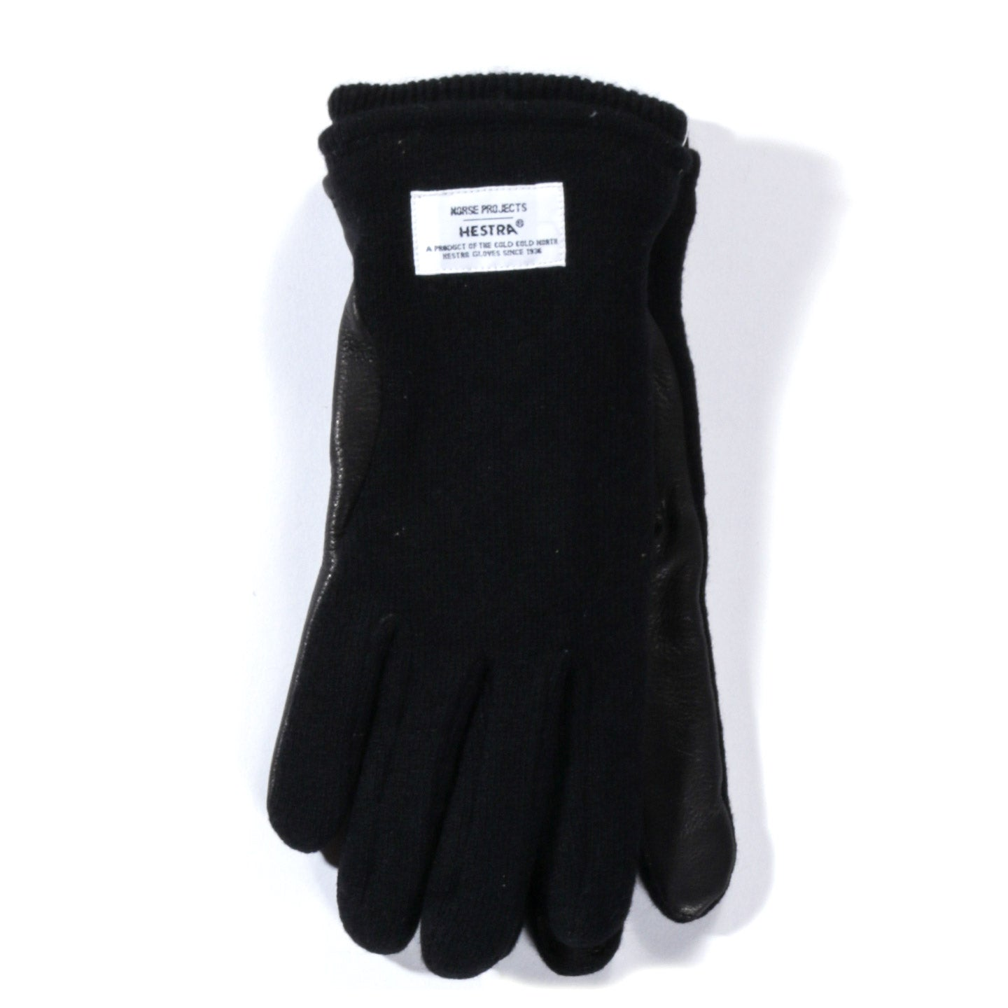 NORSE PROJECTS HESTRA SVANTE GLOVES BLACK