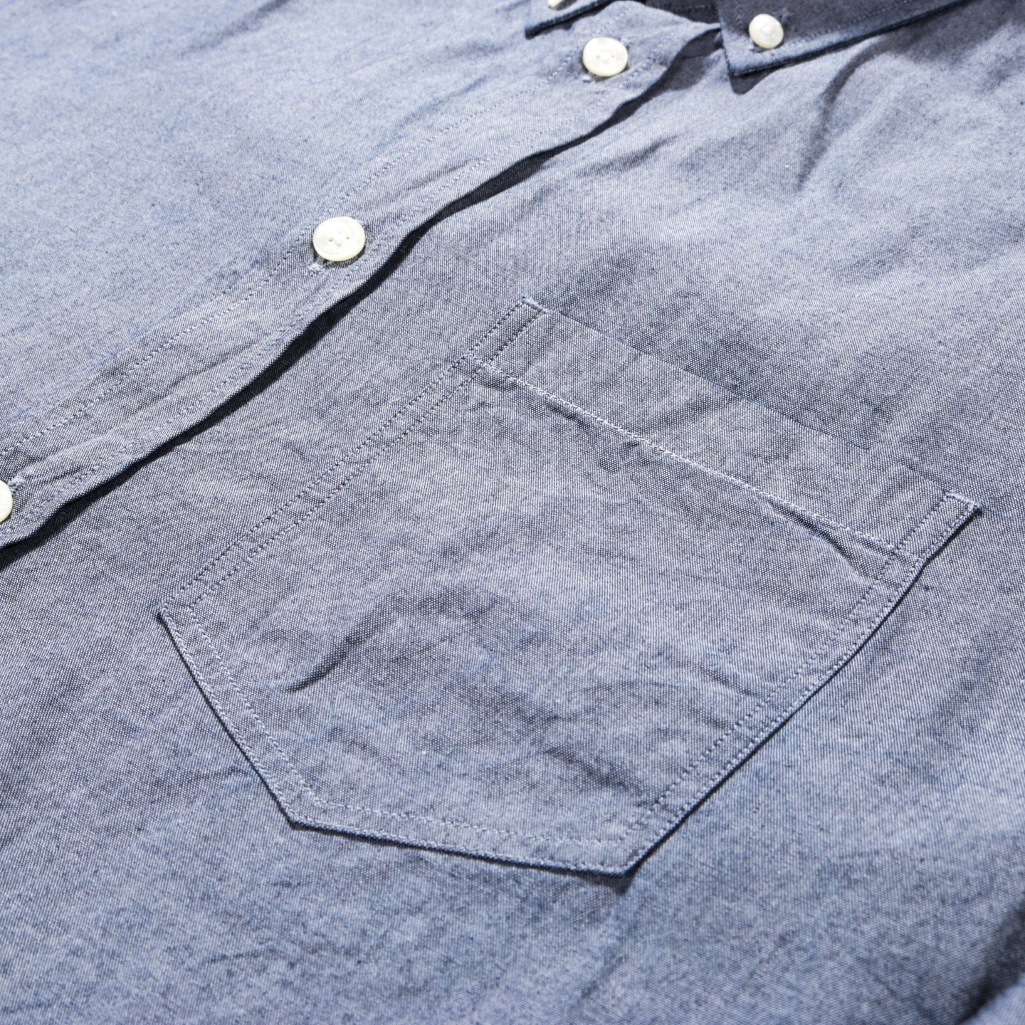 NORSE PROJECTS ANTON CHAMBRAY LIGHT INDIGO