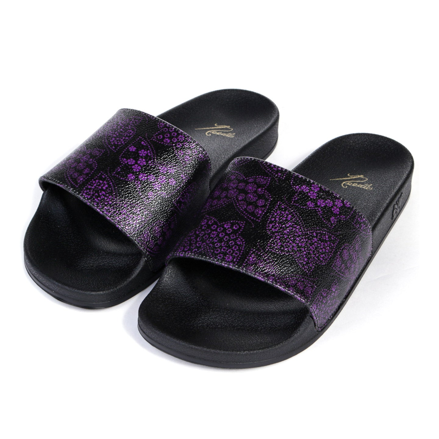 NEEDLES SHOWER SANDALS PAPILLON BLACK