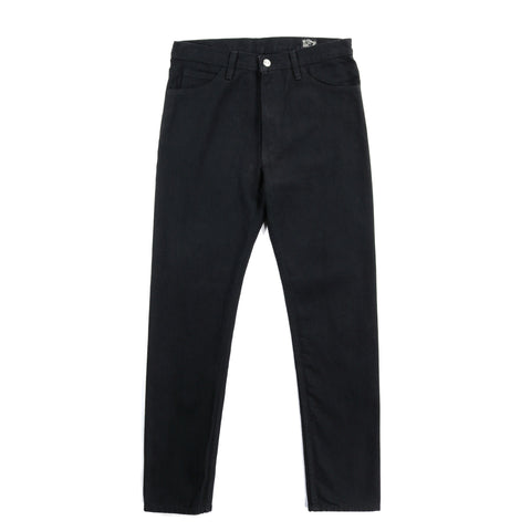 ORSLOW 307 SUPER SLIM FIT BLACK DENIM
