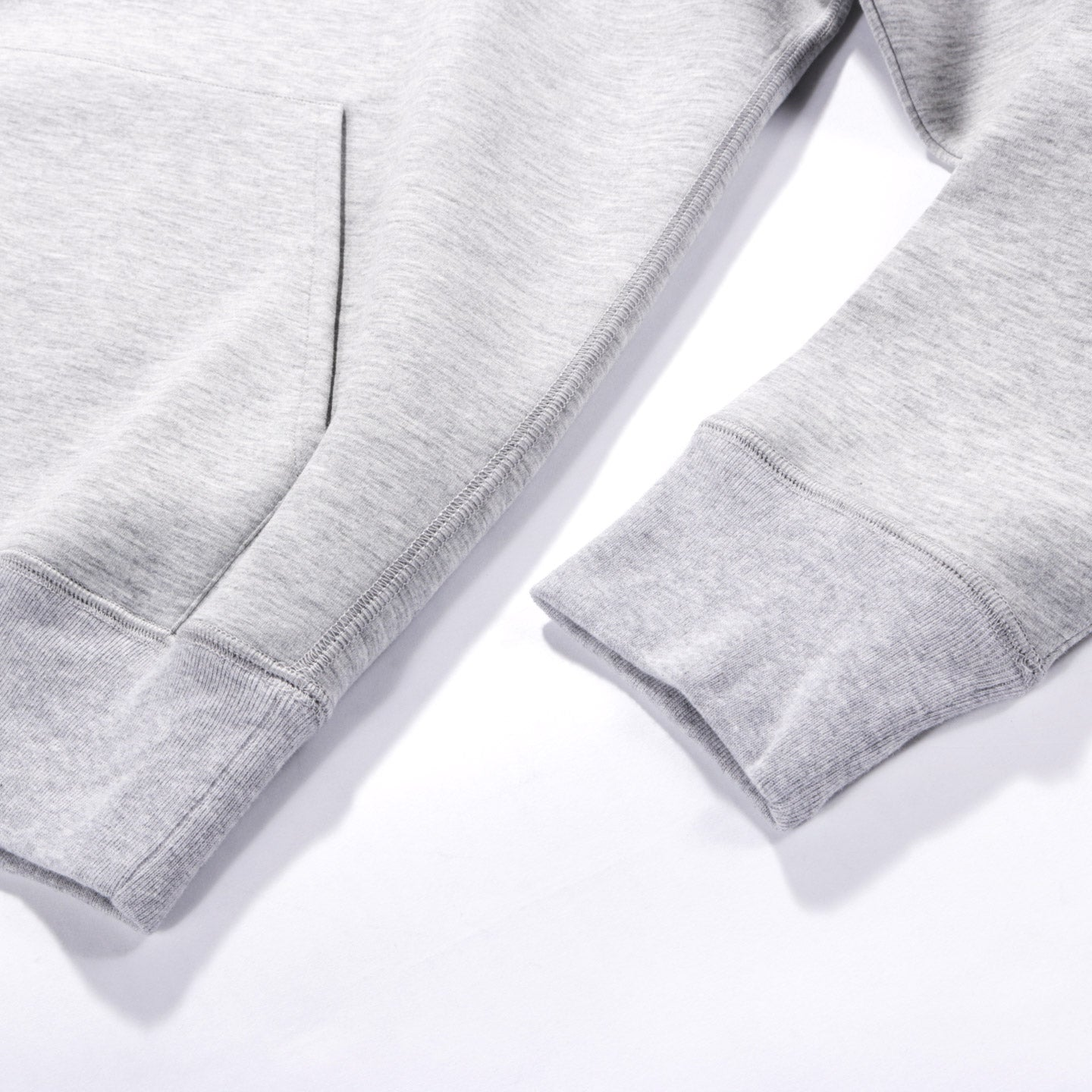 OUR LEGACY SINGLE HOOD GREY MELANGE SCUBA