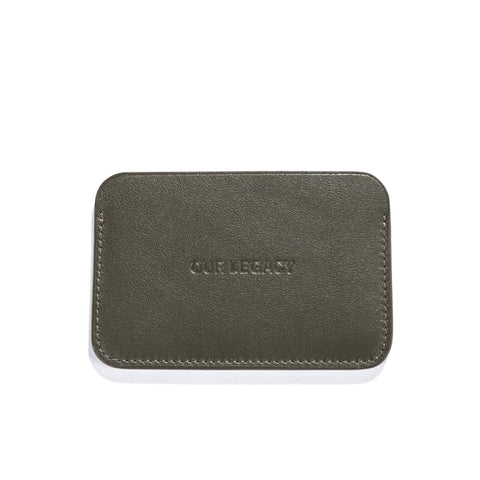 OUR LEGACY REVERB CARD HOLDER MILITARY GREEN