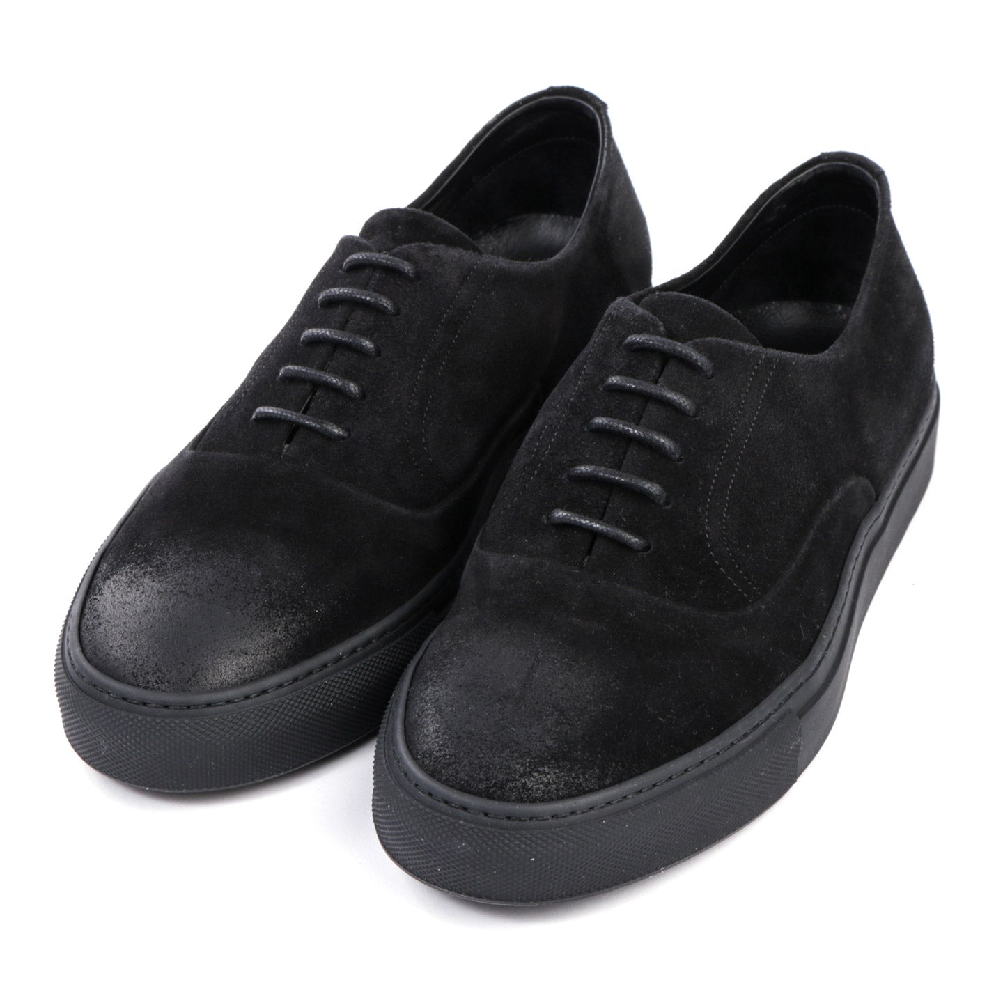 ONTO LEX OXFORD SNEAKER BLACK SUEDE