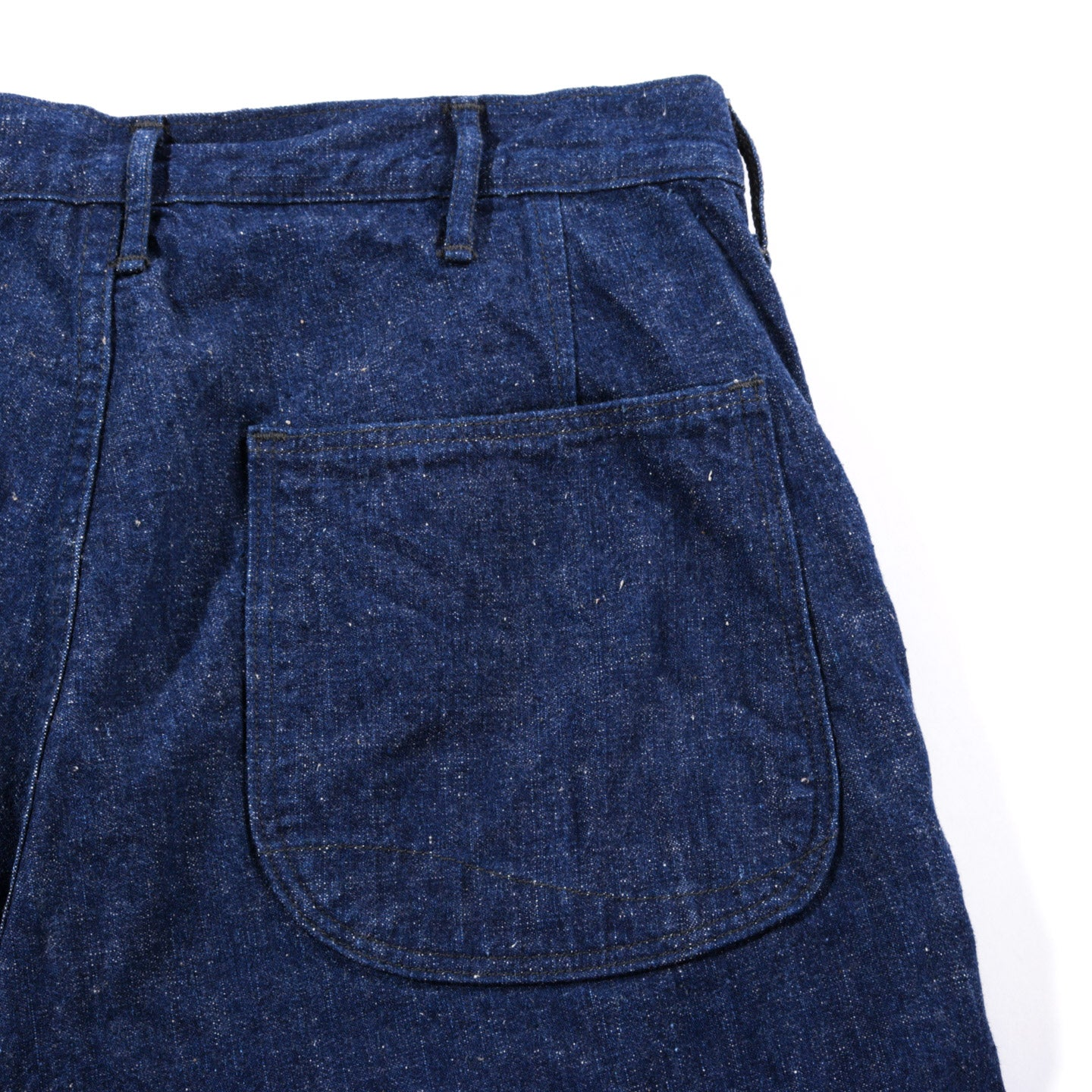ORSLOW US NAVY UTILITY PANTS OG SELVEDGE DENIM ONE WASH
