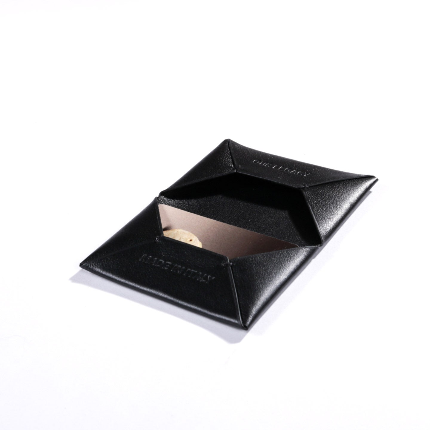 OUR LEGACY CHORUS BI FOLD CARD HOLDER BLACK